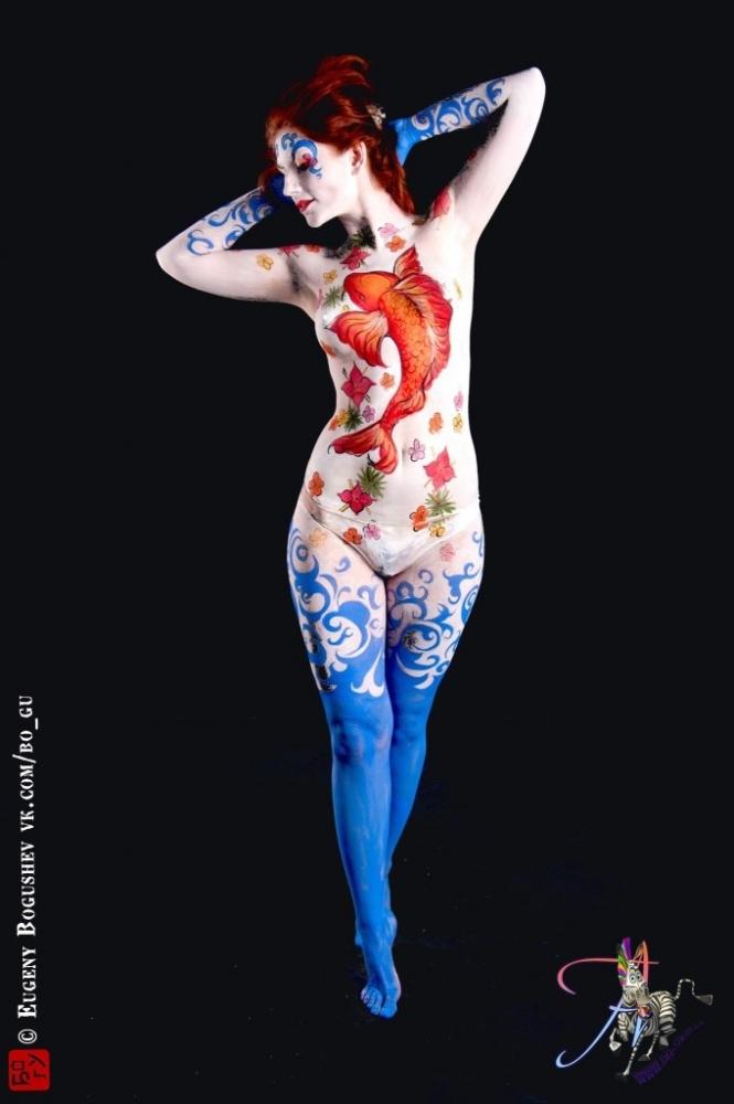 Работа девушка модель боди арт практическая работа аквариум как девушка модель экосистемы 11
